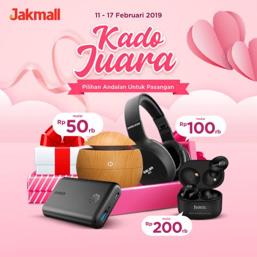 Jakmall.com Promo KADO JUARA, Pilihan Andalan Untuk Pasangan!