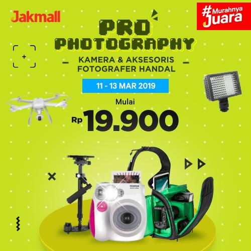 Jakmall.com Promo PRO PHOTOGRAPHY, Harga Mulai Rp 19.900!
