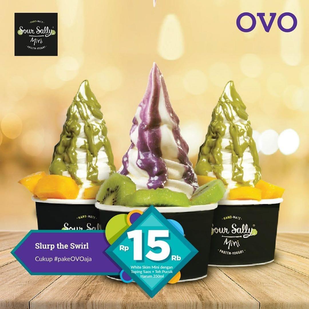 Sour Sally Promo Paket Hemat Dengan OVO, Hanya Rp. 15.000an