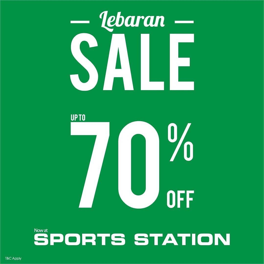 Sport Station Promo Lebaran Sale, Diskon Hingga 70%