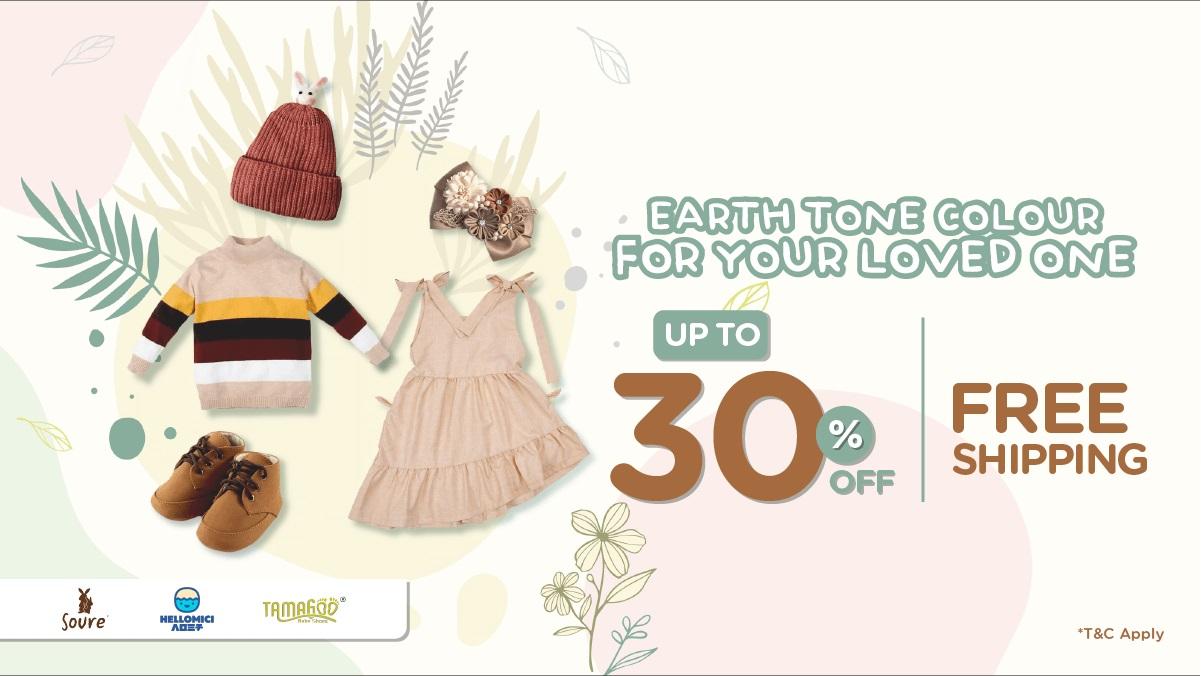 Tokopedia Promo Koleksi Baju Lucu Untuk Si Kecil, Diskon Hingga 30% + Free Shipping