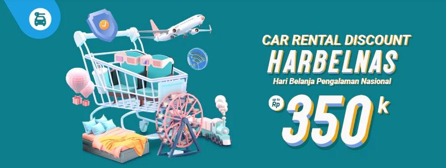 Traveloka Promo Harbelnas, Sewa Mobil Diskon Hingga Rp 350.000