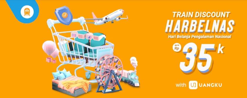 Traveloka Promo Harbelnas 1010, Tiket Kereta Api Diskon Hingga Rp 35.000