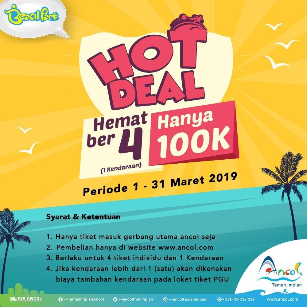 Taman Impian Jaya Ancol Promo Paket Hemat Berempat Cuma Rp. 100.000