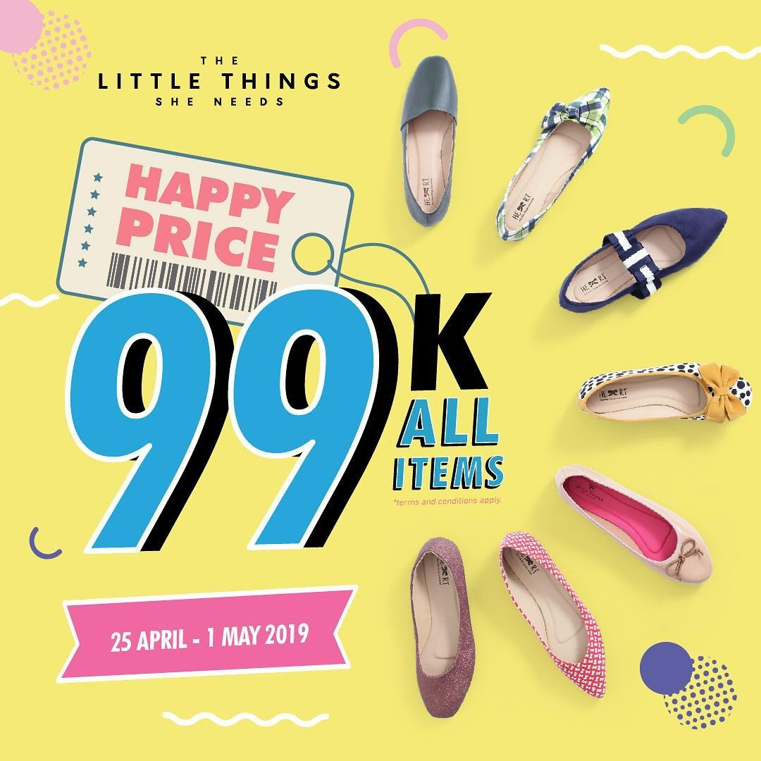 The Little Thing She Need Promo Happy Price, Semua Serba Rp. 99.000!