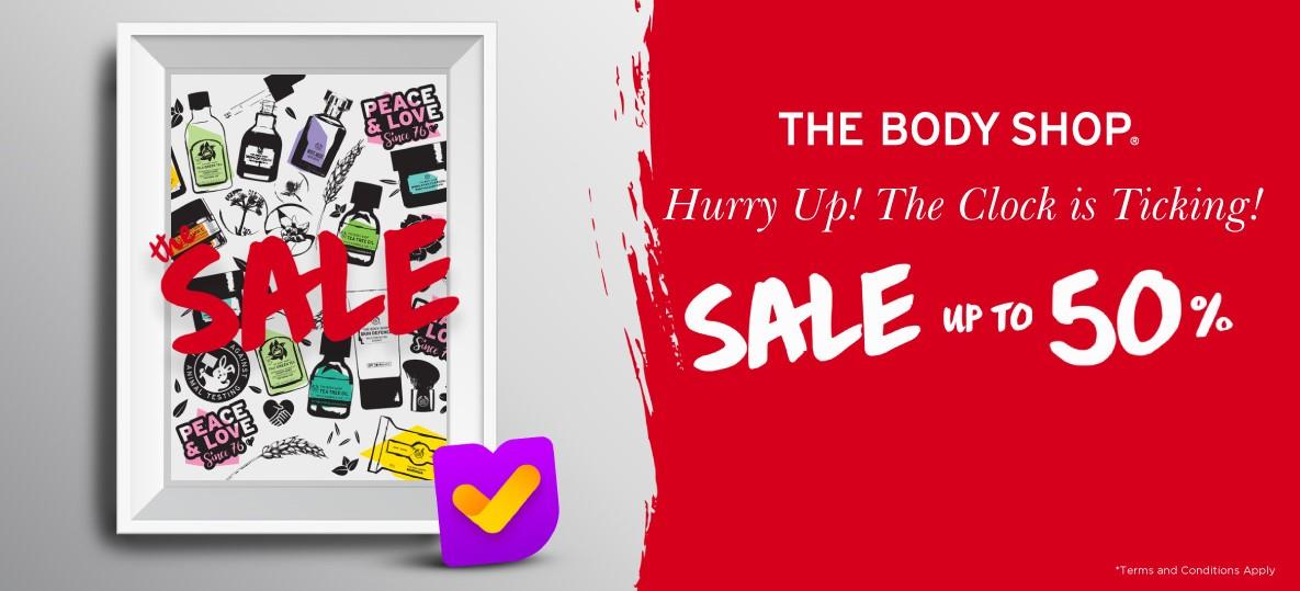 The Body Shop Promo Special Deals Diskon Hingga 50%!