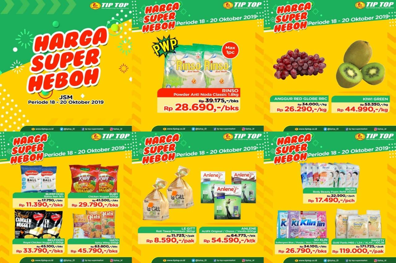 Katalog Promo JSM Tip Top Swalayan Periode 18-20 Oktober 2019