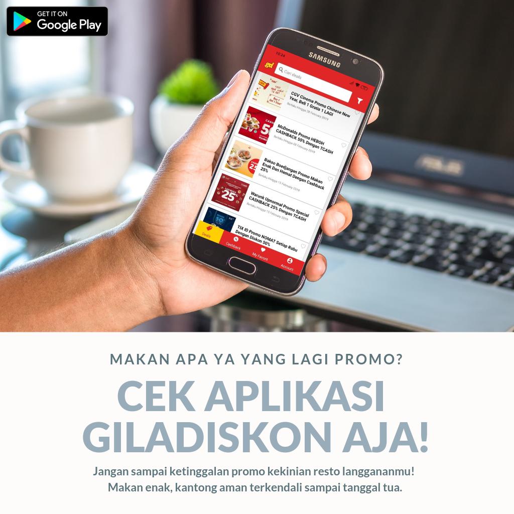 Giladiskon Download Apps-nya Sekarang Juga!