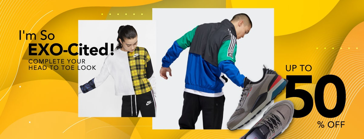 Blibli Promo EXO-Cited, Aksesoris Fashion Diskon hingga 50%
