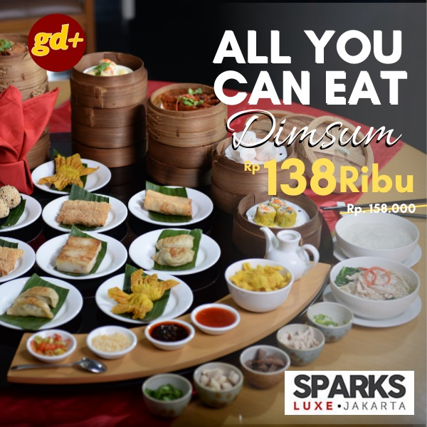 Promo Sparks Luxe Hotel - All You Can Eat Dimsum hanya Rp 138.000