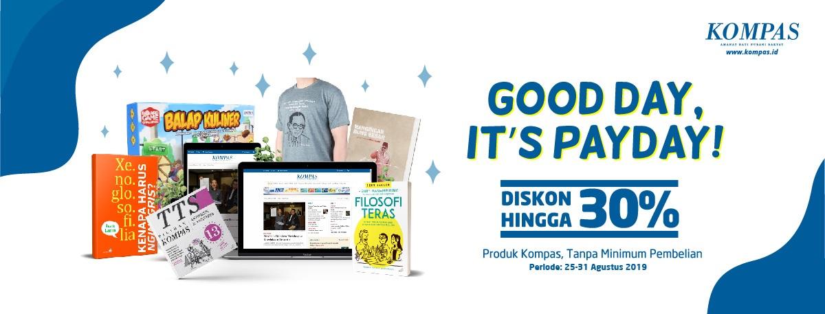 Blibli Promo Payday Kompas, Diskon Hingga 30%