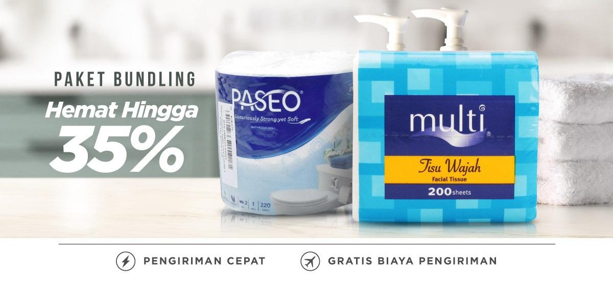 Blibli Promo Tissue, Hemat hingga 35%