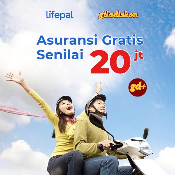 Asuransi Gratis senilai 20 juta dari Lifepal Khusus Member GD+