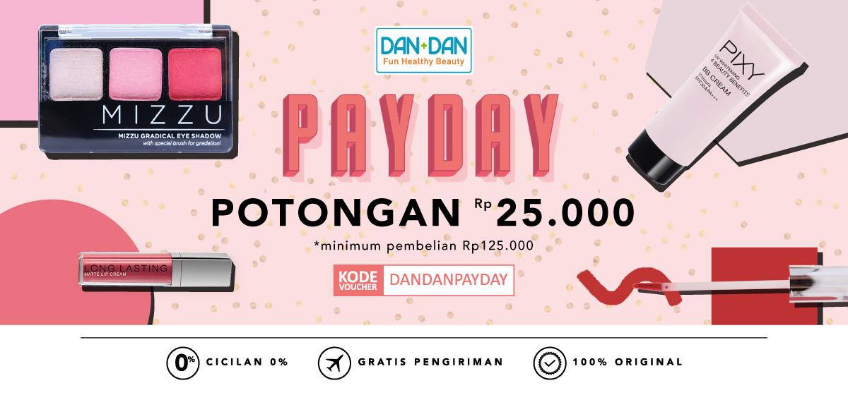Blibli Promo Dan Dan Pay Day, DISKON Rp 25.000