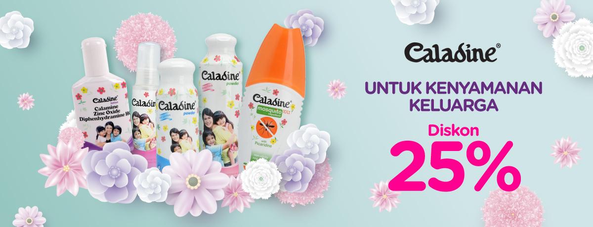 Blibli Promo Caladine Super Sale, Diskon Hingga 25%