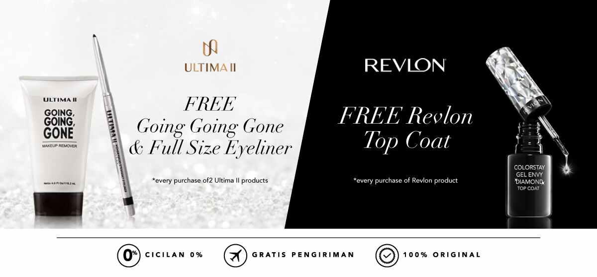 Blibli Promo Revlon Ultima II, Free Gift
