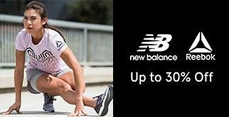 Zalora Promo Serba Hemat Produk New Balance & Reebok Dengan Diskon Hingga 30%