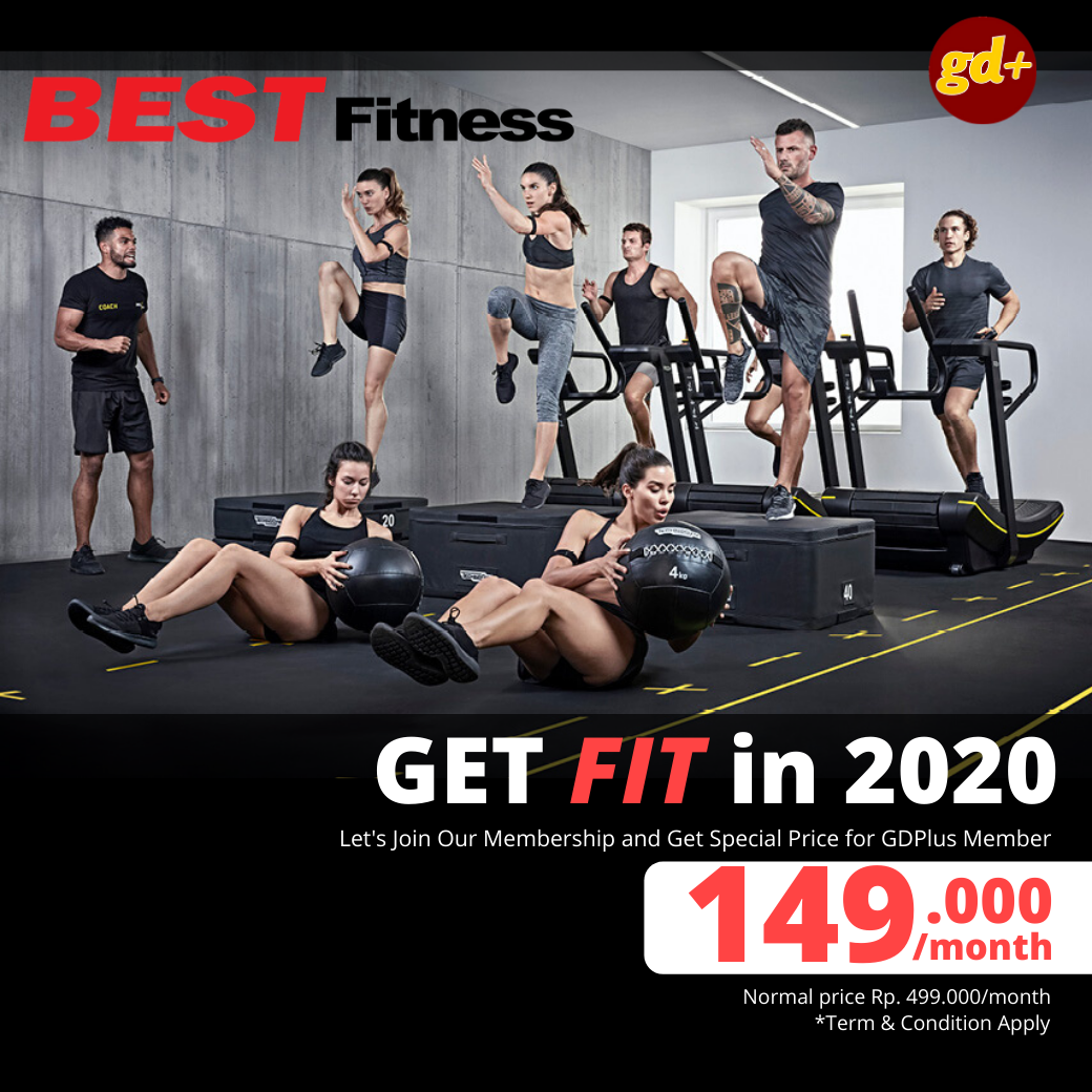 BEST Fitness Promo Membership Hanya 149.000