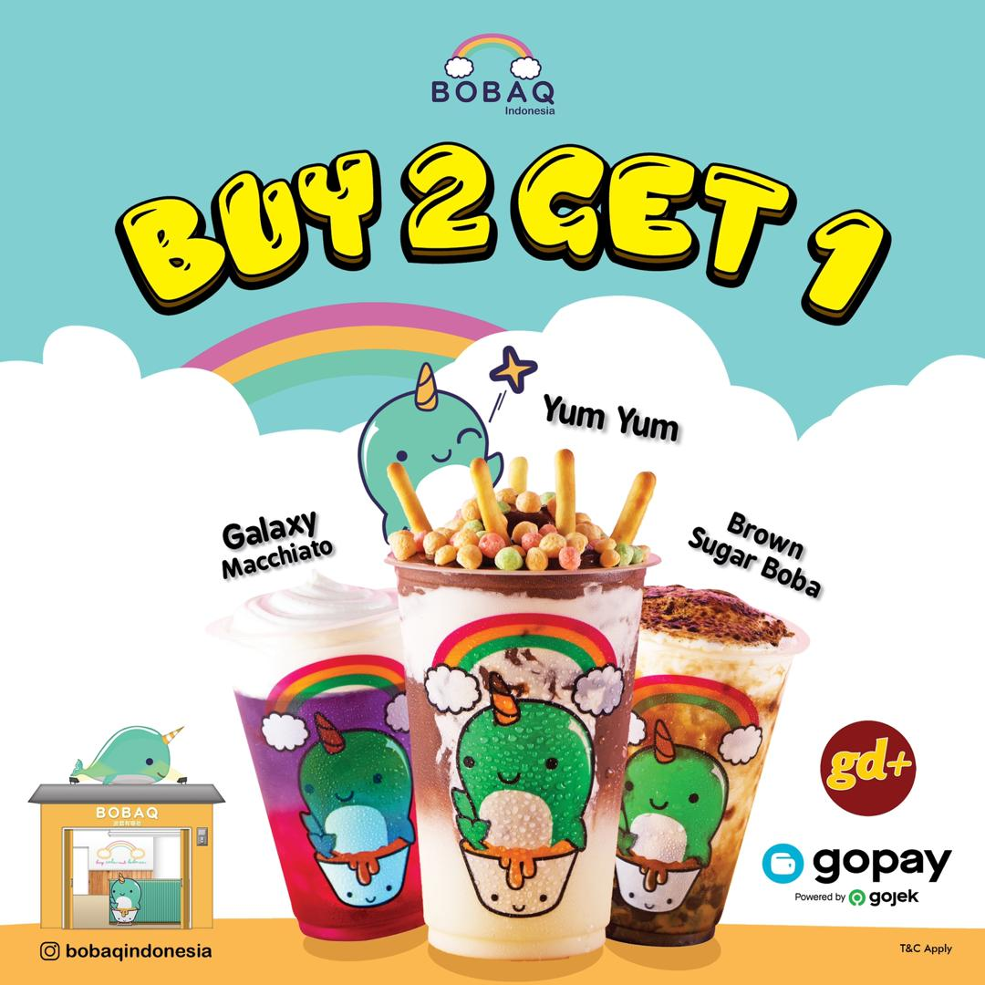 Bobaq Indonesia Promo Buy 2 Get 1