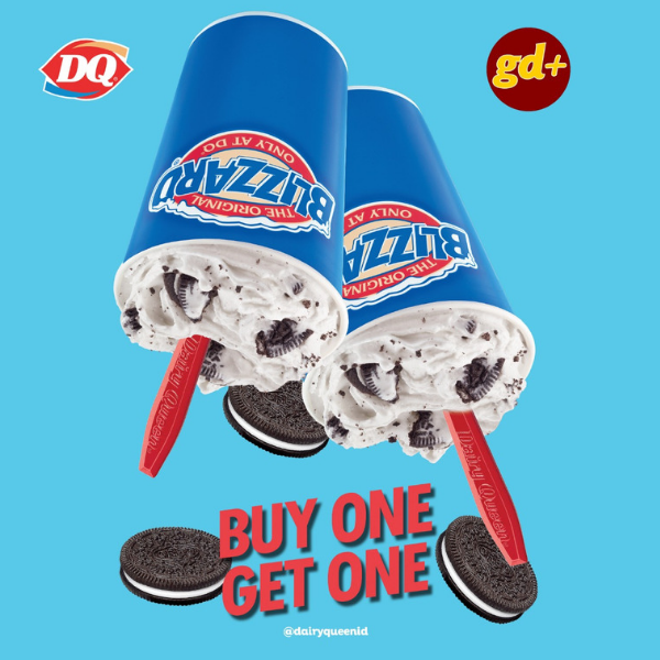Dairy Queen Promo - Buy One Get One Blizzard