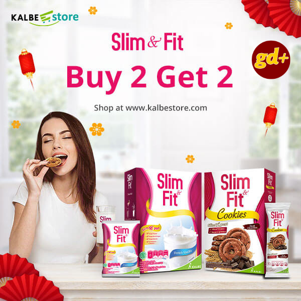 Kalbe Store Promo SLIM FIT BUY 2 GET 2