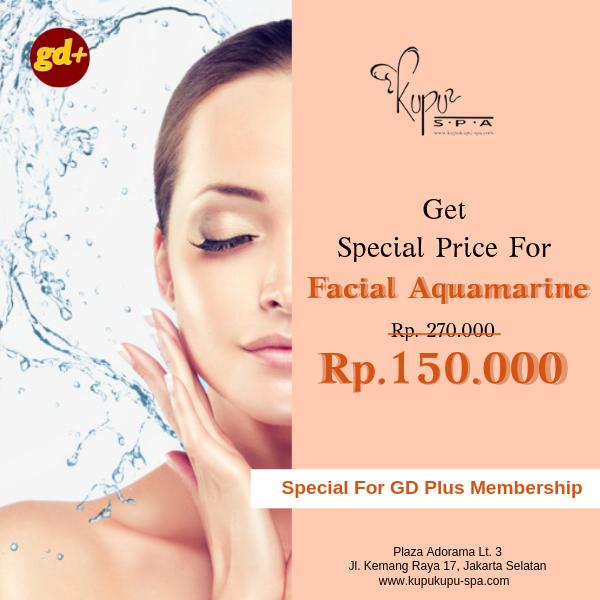 Kupu Kupu Spa Promo Facial Aquamarine Treatment Special Price