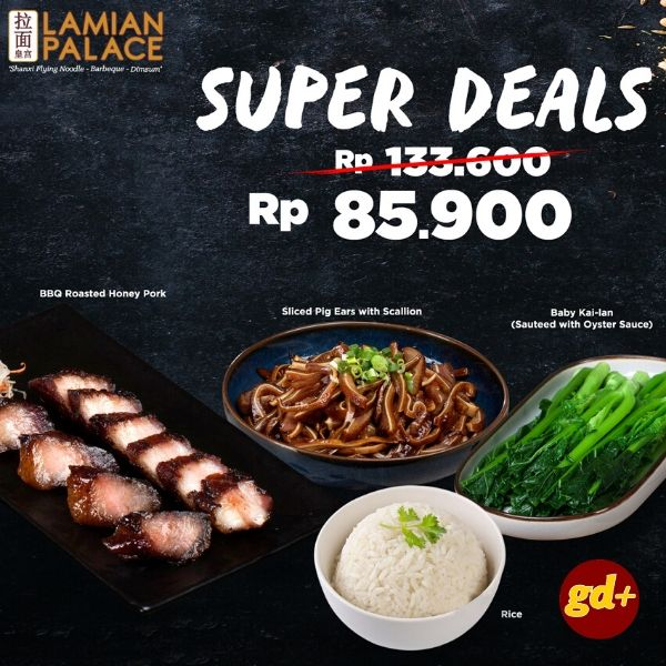Lamian Palace Promo Paket Sliced Pork With Scallion Hanya Rp 85.900!