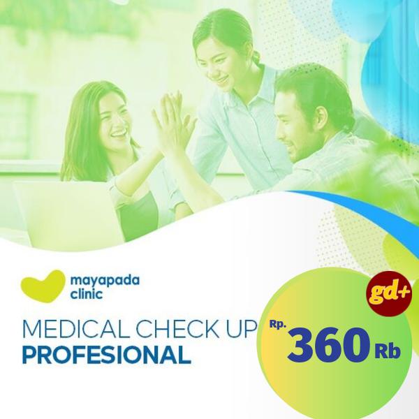 Promo Mayapada Clinic, Medical Check-Up Profesional Rp 360.000
