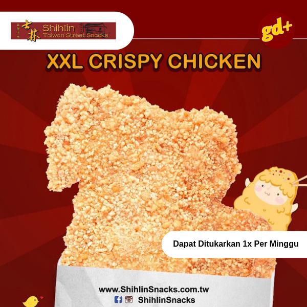 Promo Shihlin Combo Gilee - XXL Crispy Chicken + Seafood Tempura Harga Special