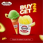Promo Kedai Ice Cream Gentong, Buy 2 Get 2 FREE