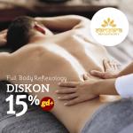 Samsara Reflexology Diskon 15% Untuk Semua Treatment (120 menit)