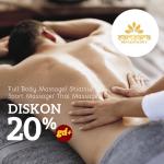 Samsara Reflexology Diskon 20% Untuk Semua Treatment (90 menit)