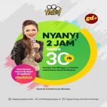 Promo Happup KTV Karaoke, Nyanyi 2 jam Hanya Rp 30.000