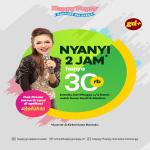 Promo Happy Puppy Karaoke, Nyanyi 2 jam Hanya Rp 30.000