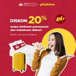 ZEN Rooms Promo Special Diskon 20% Tanpa Minimum Pemesanan